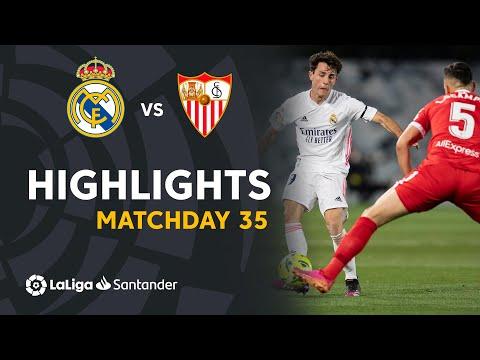 Highlights Real Madrid vs Sevilla (2-2)