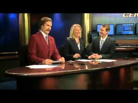 WATCH: Ron Burgundy Crashes a Local Newscast