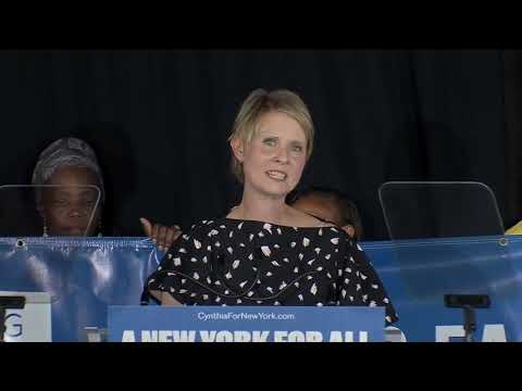 Cynthia Nixon Speaks After Losing In NY's Democratic Primary Election