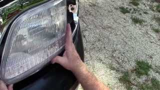 F-150 Front Grille Assembly Install on a 2000 Ford Truck