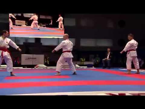 WKF Karate Eb 2013 Budapest - éremmeccsek 2.