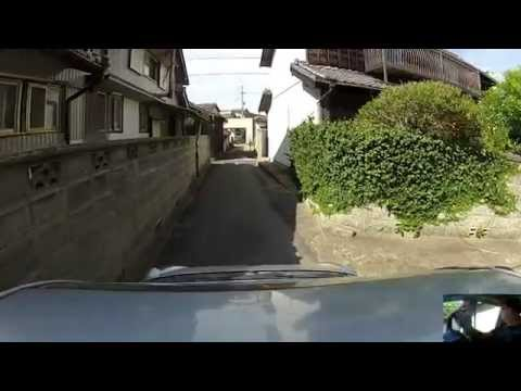 Driving Narrow Japanese Streets!
