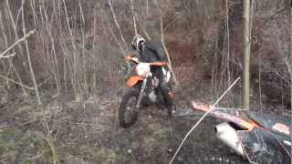 7. KTM EXC 450 2008 and 2006 and 2005 ENDURO