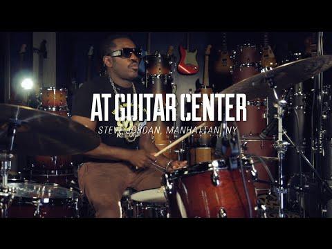 Steve Jordan At Guitar Center