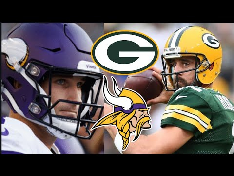 Packers vs Vikings Reaction. Packers Will Win NFC North! Vikings still good team. Packers vs Vikings