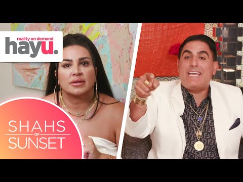 MJ Tries To Clear Her Name With The Rest Of The Shahs | Season 8 | Shahs of Sunset