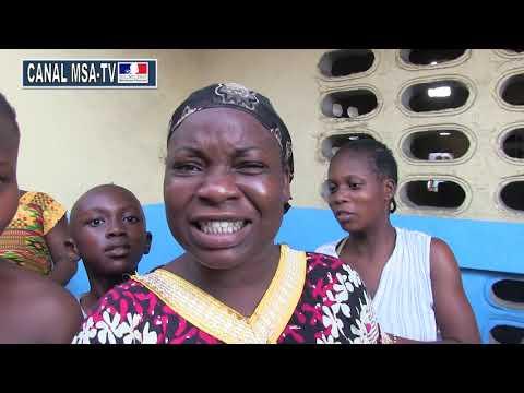 COTE D'IVOIRE : Interview des locataires à déguerpir d 'Adjouffou