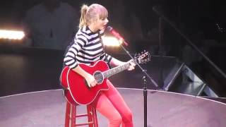 Download Lagu Taylor Swift Teardrops On My Guitar (HD) May 22 2013 RED Tour Mp3