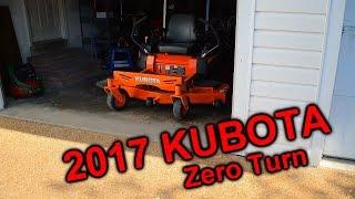 1. NEW 2017 Kubota z125e Kommander Zero Turn Mower