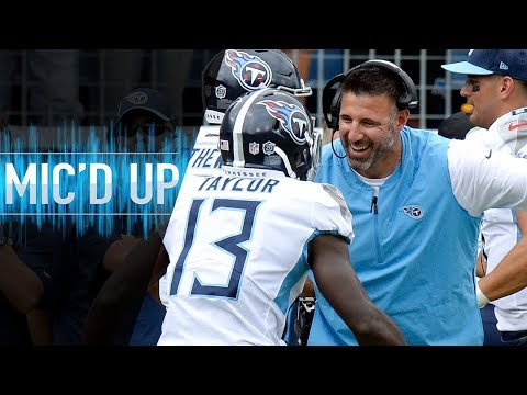 Mike Vrabel Mic'd Up vs. Texans Earning First Career Head Coaching Win | NFL Films (видео)
