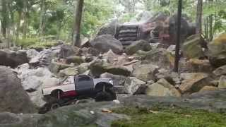 f150 ford build tough scx10 blanko scarlet part 1