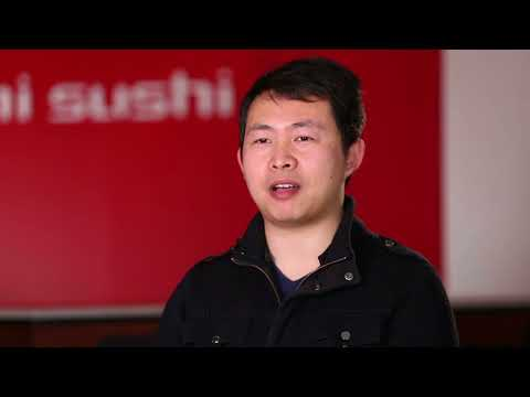 Peter Zhang, our Sushi Sushi Franchise Partner at Craigieburn