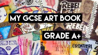 My GCSE Year 10 Art Book (Grade A+)
