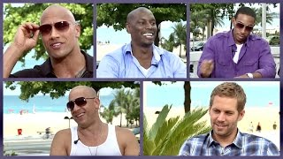 Nonton Fast and Furious cast on
