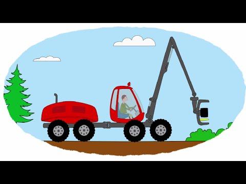 Скачать мультик раскраска тракторы
