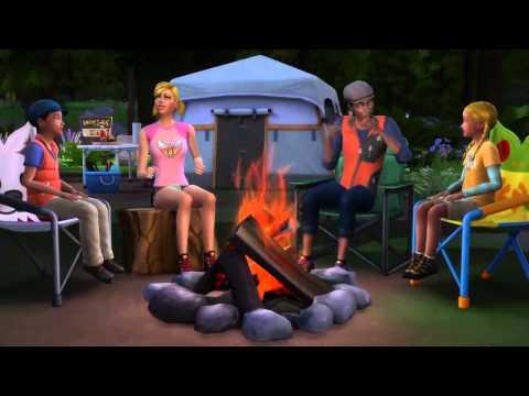 Как в симс 4 сделать палатку
