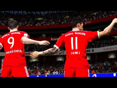 Eintracht Frankfurt vs Bayern Munich 9 December 2017 Gameplay