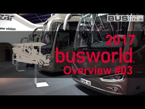 Busworld 2017 | Overview of European bus manufacturer clip 0…