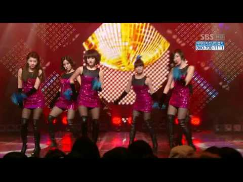 100124 T-Ara - Like The First Time (HD)