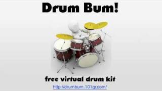 Drum Bum! YouTube video