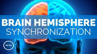 "Brain Hemisphere Synchronization (v4) - Activate The Entire Brain - Alpha Binaural BeatsMagnetic Minds:Purchase this HD Audio Track on MP3: https://sellfy.com/p/XUysThis video contains frequencies which will synchronize the Two Brain Hemispheres. When this occurs, the Mid-Brain activates, and a profound increase to Consciousness and Awareness may occur. The following frequencies are contained in this video: 9 HzBinaural BeatsBrain Hemisphere SynchronizationCarrier Frequency: 144 Hz If you enjoy this video, please Like and Subscribe for weekly updates.===== General Questions =====Q. What are Binaural Beats?""Binaural Beats"" is a term given to playing one sound frequency in one ear, and another sound frequency in the opposite ear, creating a two-tone effect in the mid-brain that is actually perceived to be one tone. This causes an ""Entrainment"" effect in the brain that has a variety of results depending on the frequency. Q. What are Binaural Beats good for?Lots of things. Meditation, Relaxation, Stress Relief, Deeper Sleep, Pain Relief, Mind Expansion, Brain Hemisphere Synchronization, and the list goes on and on. Pretty much any element of the Mind / Body complex can be improved using Binaural Beats, which again is just Brainwave Entrainment. Q. Do Binaural Beats Actually Work?Indeed. Many scientific studies (especially as of late) have conclusive research on Brainwave Entrainment and it's effects. Q. Must I wear headphones for these videos? You don't have to use headphones, but the Binaural effect is increased if you do. Q. Do I need to close my eyes while listening to this?No, although you'll find closing your eyes will generally lead to a deeper, more profound state while listening.If you enjoy this video, please Like and Subscribe for weekly updates."