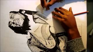 Check out this new drawing video of reggae legend Bob Marley! If you guys are keen to see more of my work go check out my social media: INSTAGRAM - http://in...
