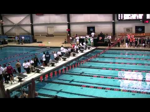 200 IM Finals walkout 2011 Women's Ivy Champs
