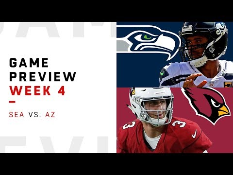 Video: Seattle Seahawks vs. Arizona Cardinals | Week 4 Game Preview | NFL Film Review
