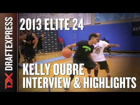 Kelly Oubre – 2013 Under Armour Elite 24 – Interview & Practice Highlights
