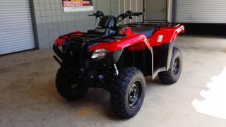 9. 2016 Honda Rancher 420 DCT + IRS + EPS ATV Walk-Around Video | TRX420FA6 FourTrax 4x4 Four Wheeler