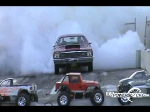 myPowerBlock: Dodge Duster Burnout