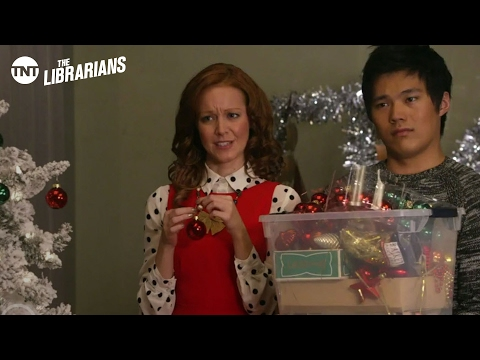 The Librarians: Santa's Midnight Run Sneek Peek - Season 1 Ep.4 [Preview] | TNT