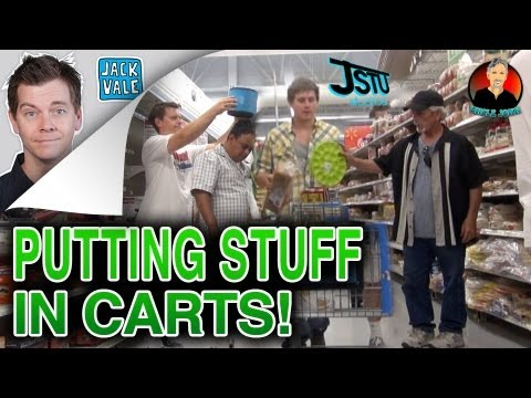 Prank - Uncle John, Justin and myself went to the store and tried to sneak as many things as possible into peoples shopping baskets! WITHOUT THEM KNOWING! Sometimes ...