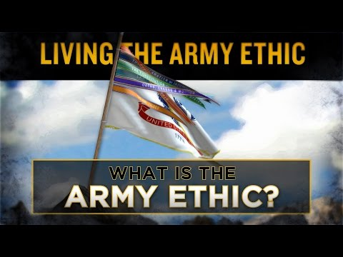 What is the Army Ethic? Screenshot