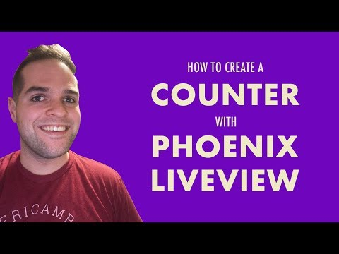 How to Create a Counter with Phoenix LiveView