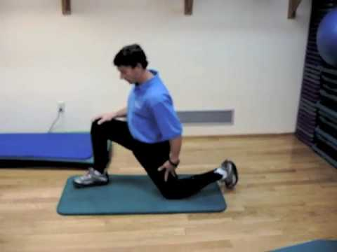 Warmup And Stretching - Ski Exercise Fitness Video 4 of 15