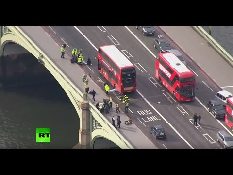 LIVE: Police shoot terrorist outside British parliament, people rammed with car
