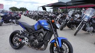 10. 009546 - 2016 Yamaha FZ 09 - Used motorcycles for sale