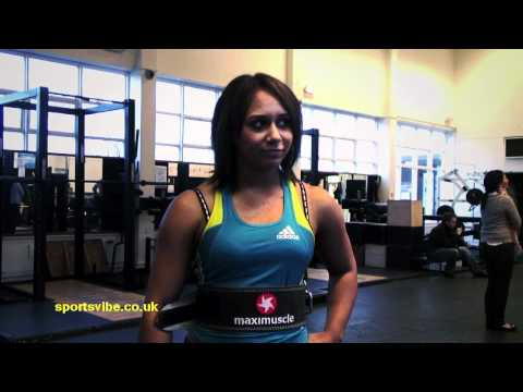 Zoe Smith on Weightlifting & Training with London Wasps