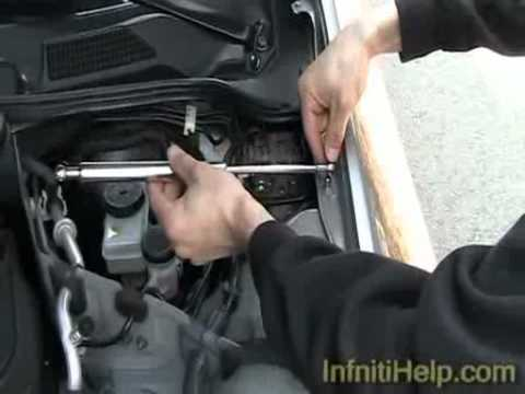 DIY: Infiniti G35 Sedan Hood Dampers Installation