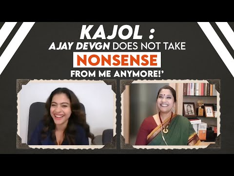 Kajol : 'Shahrukh Khan told me I was a BAD ACTOR!'