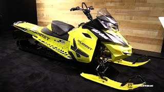 9. 2016 Ski Doo Summit X 800R E-Tec Sled with T3 Package - Walkaround - 2015 AIMEXPO Orlando