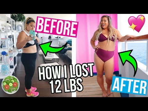 HOW I LOST 12LBS! WHAT I EAT IN A DAY TO LOSE WEIGHT!! (видео)