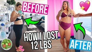 HOW I LOST 12LBS! WHAT I EAT IN A DAY TO LOSE WEIGHT!! by MissRemiAshten