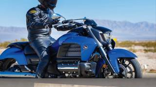 8. Honda Gold Wing Valkyrie, the ultimate touring bike more power engine