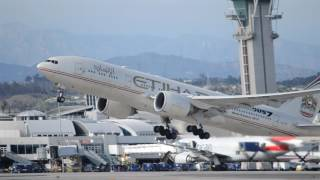 Nonton Etihad Airways Boeing 777-200LR [A6-LRE] (Fast & Furious 7 Livery) Takeoff From LAX Film Subtitle Indonesia Streaming Movie Download