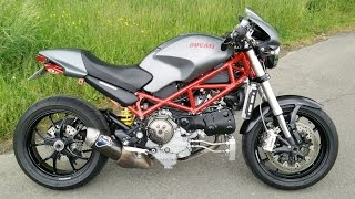 7. Ducati Monster S4R Testastretta  -  last ride