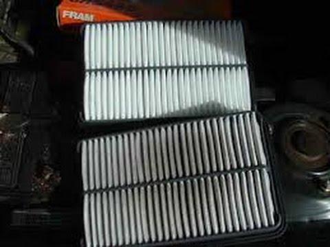 Air filter pontiac vibe снимок