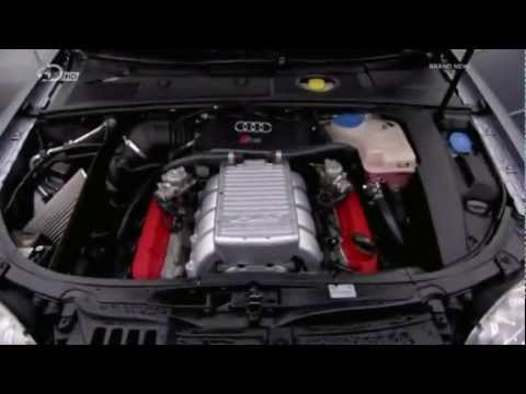 PES Supercharged RS4 track car by TE Motorsports on 5th Gear