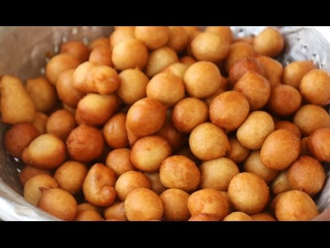 NIGERIAN PUFF-PUFF - MUMMY'S RECIPE